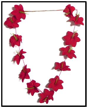 Homemade Floral Necklace Craft For Valentine S Day